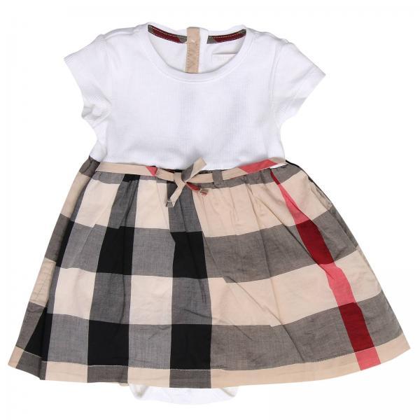 75e1d015176b Burberry Layette Little Girl's Beige Dress   Dress Kids Burberry Layette   Burberry  Dress 3998083 - Giglio EN