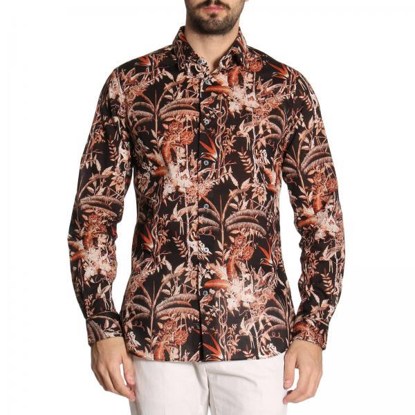 reputable site 1609a a1079 Camicia london in puro cotone con fantasia jungle