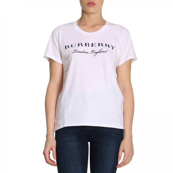 T-Shirt Women Burberry White  c6ff1a0085