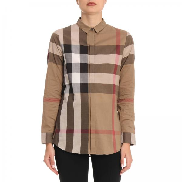 Shirt Women Burberry Brown  656c2a87ef