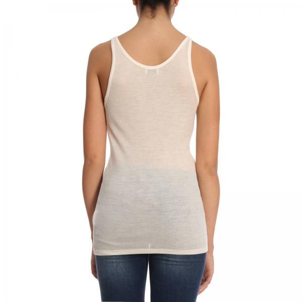 Yb2mcgiglio Mujer Camiseta 498811 Continuativo Saint Artículo Laurent Blanco wXxzxHdq8