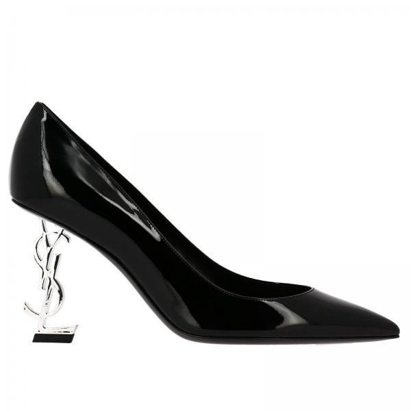 Negro Mujer D6cnngiglio Continuativo Artículo Saint 484160 De Salón Zapatos Laurent XqBRBS