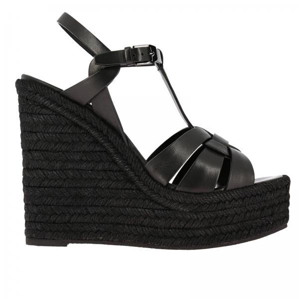 Saint Laurent Women s Wedge Shoes  27c0e691ed8b