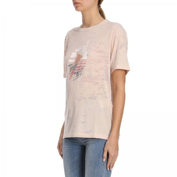 Stampa Heart Mini Cotone In T shirt Girocollo Tender A Puro Con TlF1K3Jc