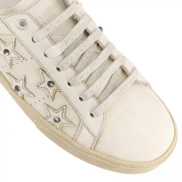 Saint Laurent Blanco 0m500giglio 514070 Zapatillas Mujer Continuativo Artículo qf875z