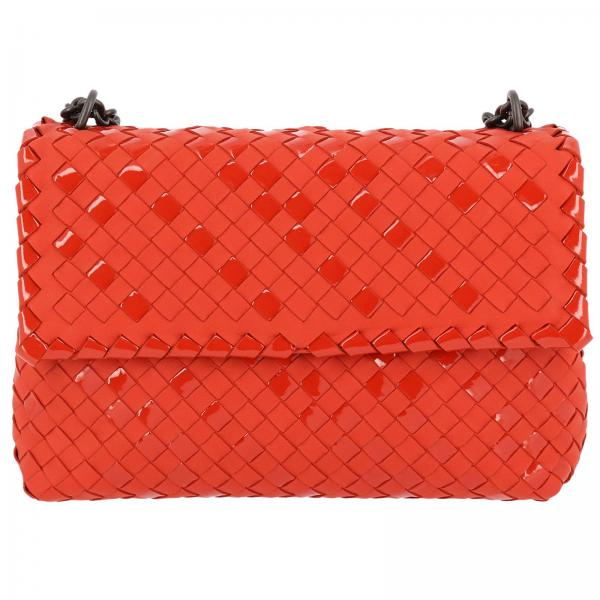 Crossbody Bags Women Bottega Veneta Red