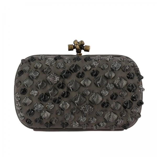 Bottega Veneta Women s Charcoal Clutch   Bottega Veneta Clutch Bag ... 7fa991d109