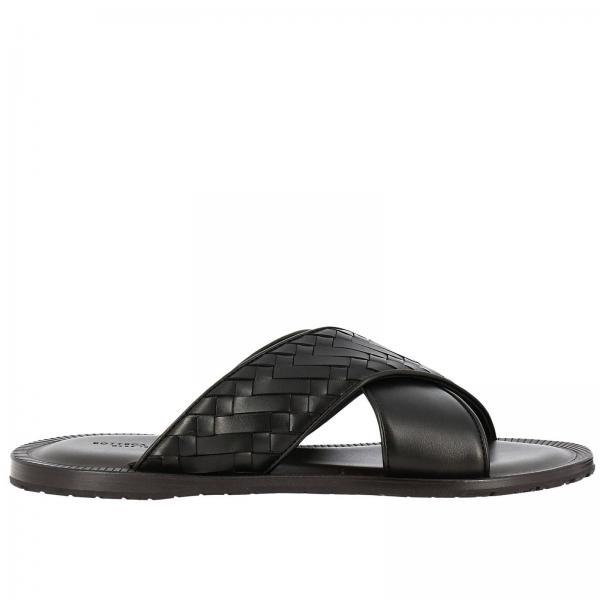 a255d766a79d Sandals Men Bottega Veneta Black