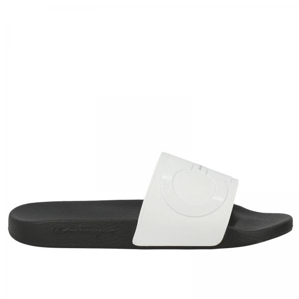 Sandales Homme Salvatore Ferragamo Blanc Chaussures Homme