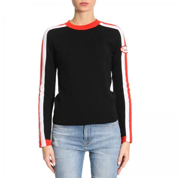 Pull Femme Moschino Couture Noir   Pull Femme Moschino Couture ... 9209133f2d20