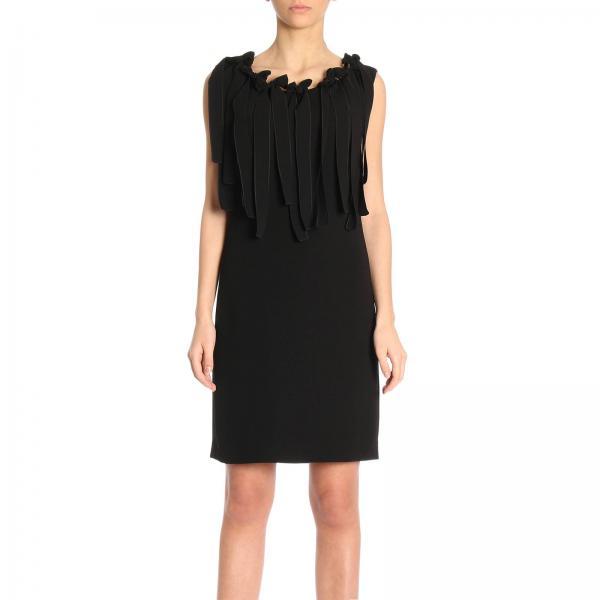 Boutique Moschino Women S Black Dress 414 824 Giglio En