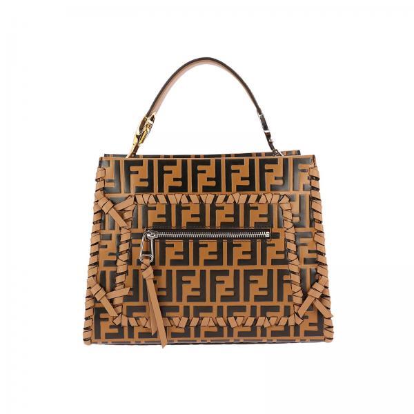 34ca9eaf9d46 Fendi Women s Beige Handbag