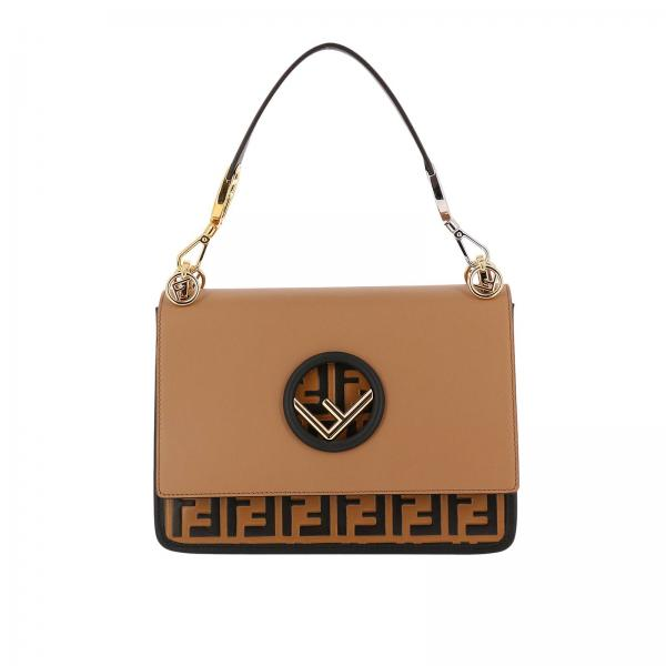edfca73796 Fendi Women s Beige Shoulder Bag