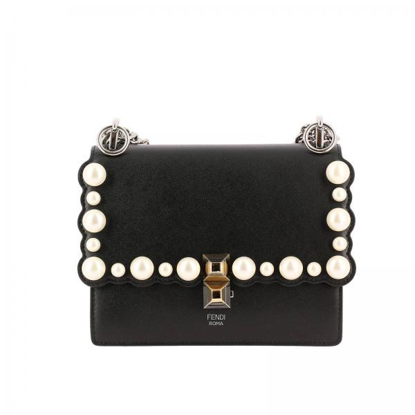 Mini sac à main Femme Fendi Noir   Sac Porté épaule Femme Fendi   Mini Sac  à Main Fendi 8m0381 A0zr - Giglio FR a7dbd705d95
