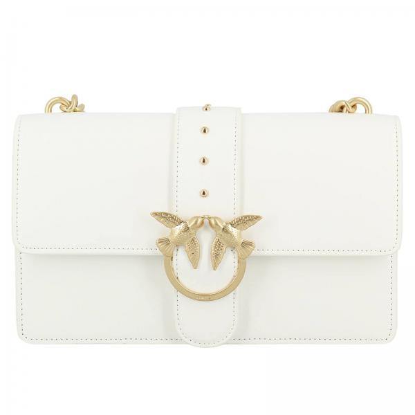 Simply 3 Tracolla A Love Pinko Borse Bianco Donna Borsa 07wSwfqx ... d53b374e892