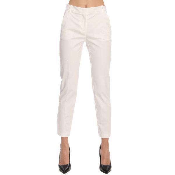 In Cotone Pinko Pantalone Donna Gussie Con Stretch 8TtPAqwP