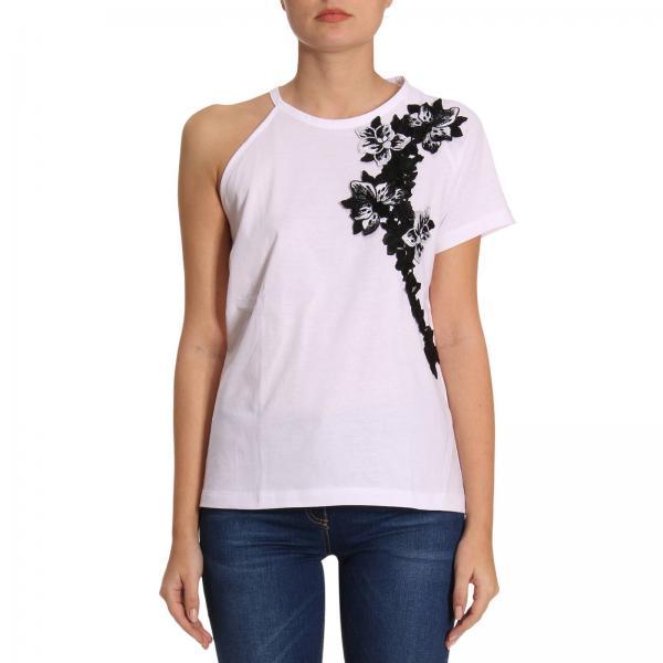 e9b4859ab116ca T-shirt Donna Pinko   T-shirt Dorothy A Monospalla Con Maxi ...