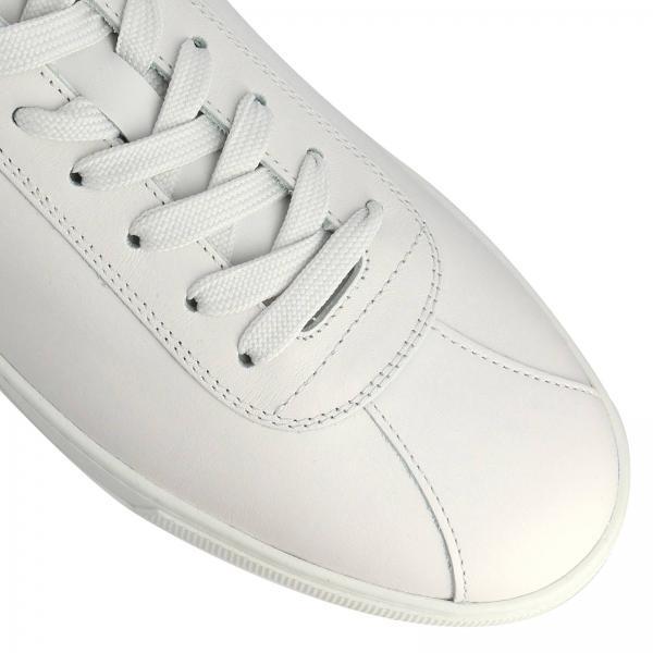 In Patch Sneakers Stringata Pelle Gommini Liscia Mini Vera Con Logo E Surf Maxi kPXTiuOZ
