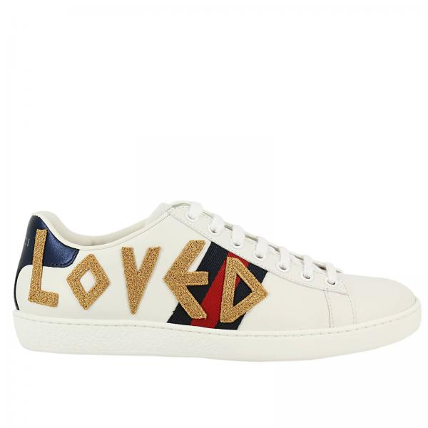 Zapatillas Mujer Gucci Blanco  8775b01b1dc
