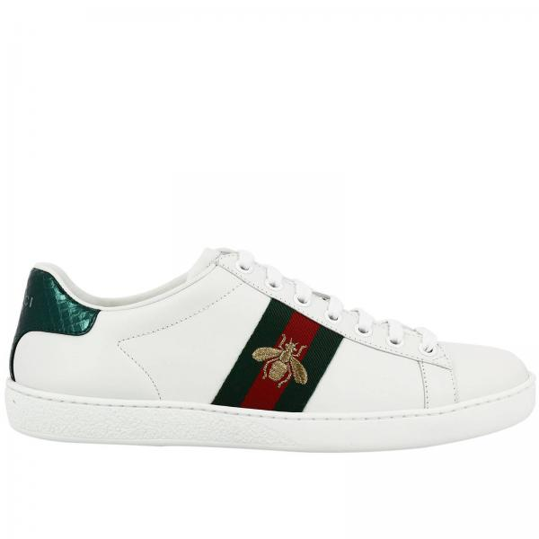 Gucci Women S White Sneakers Shoes 431942 A38g0 Giglio En