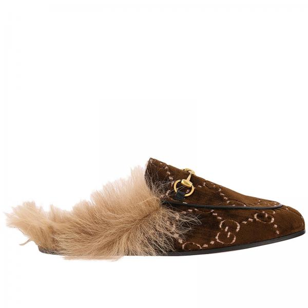 Gucci Women S Brown Ballet Flats Shoes Women Gucci
