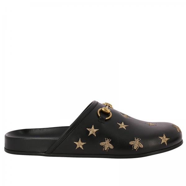 Sandales Homme Gucci Noir   Chaussures Homme Gucci   Sandales Gucci ... 2e61c9f770a