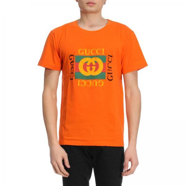 e439dddbaa2 Gucci Men s Orange T-shirt