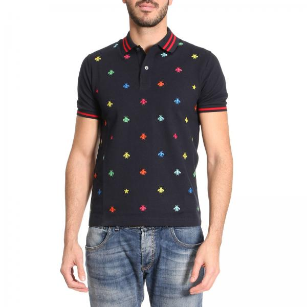 e37d392a0290 T-shirt Men Gucci Navy