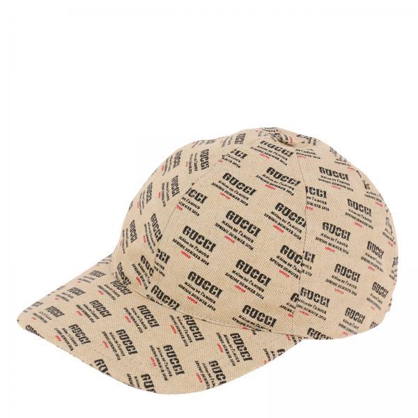256da921344c7 Cappello Uomo Gucci Panna