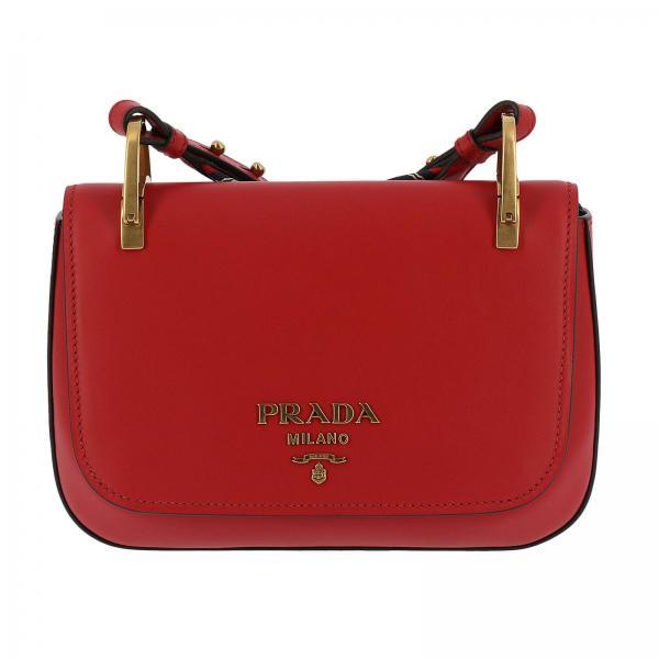 Crossbody Bags Women Prada Red 00a1f37b52840