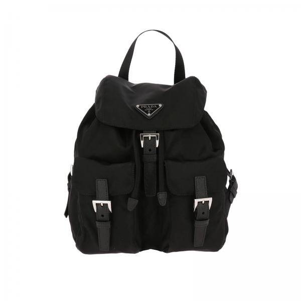 5907959b9474 ... uk backpack women prada black shoulder bag women prada backpack prada  1bz677 v44 giglio uk ed5fe