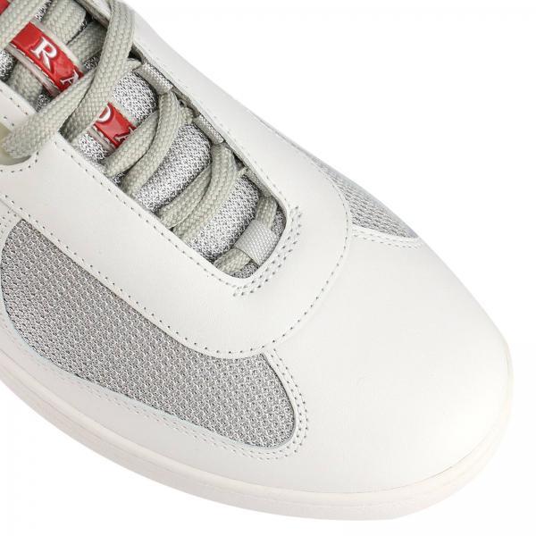 Cup Stringata America's Pelle Micro In Operata Sneakers Tela E Ov8mNwn0