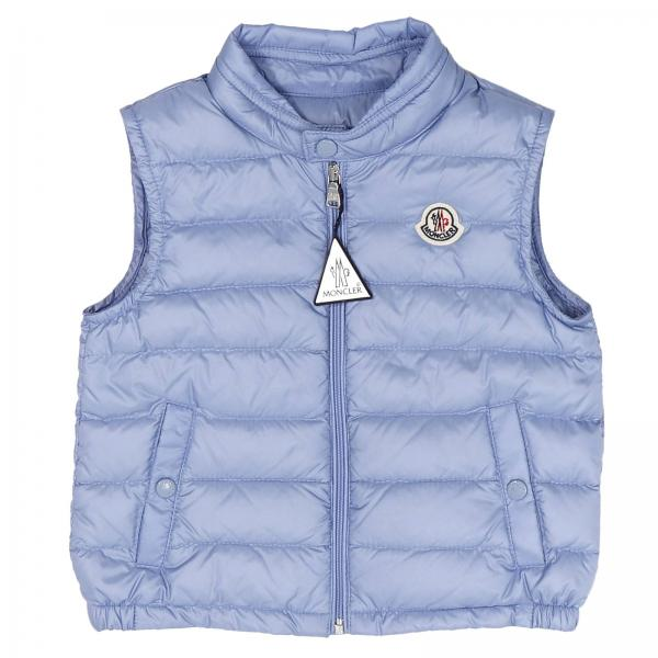 Jacket Baby Moncler Gnawed blue