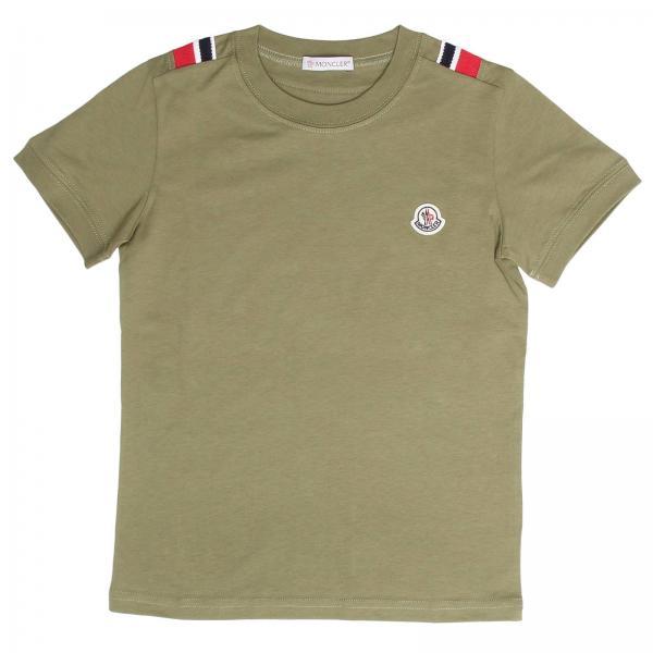Moncler Little Boy's T-shirt | T-shirt Kids Moncler | Moncler T-shirt 80198 83907 - Giglio EN