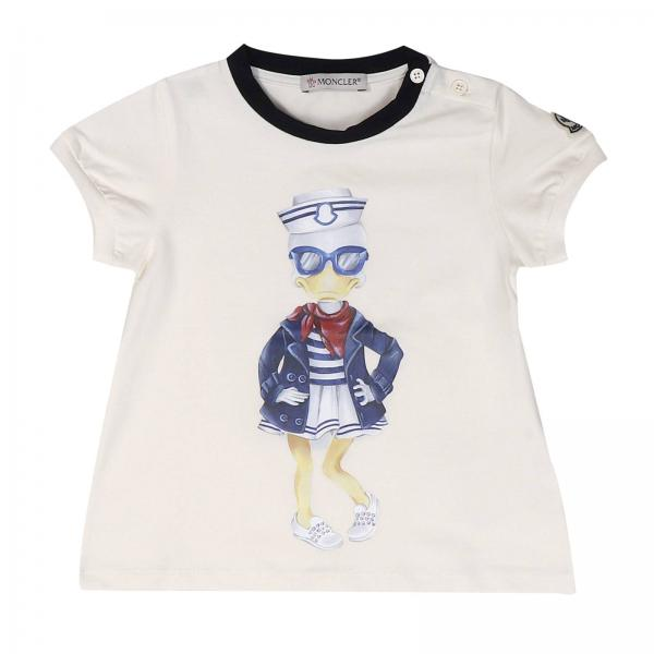 T-shirt Baby Moncler Yellow cream