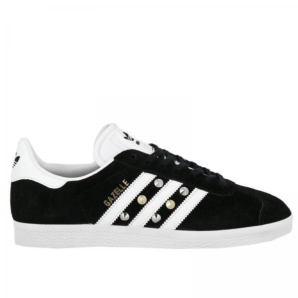 Sneakers Donna Adidas Project Customize Nero | Gazelle Camoscio E Borchie | Sneakers Adidas Bb5476 - Giglio IT