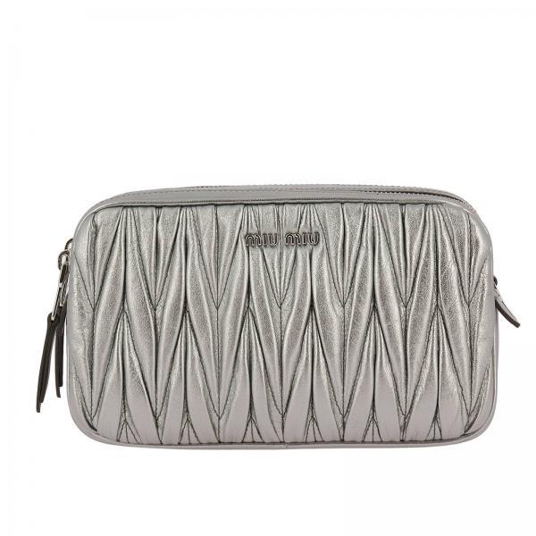 Mini Bag Women Miu Miu Silver 49901f9689
