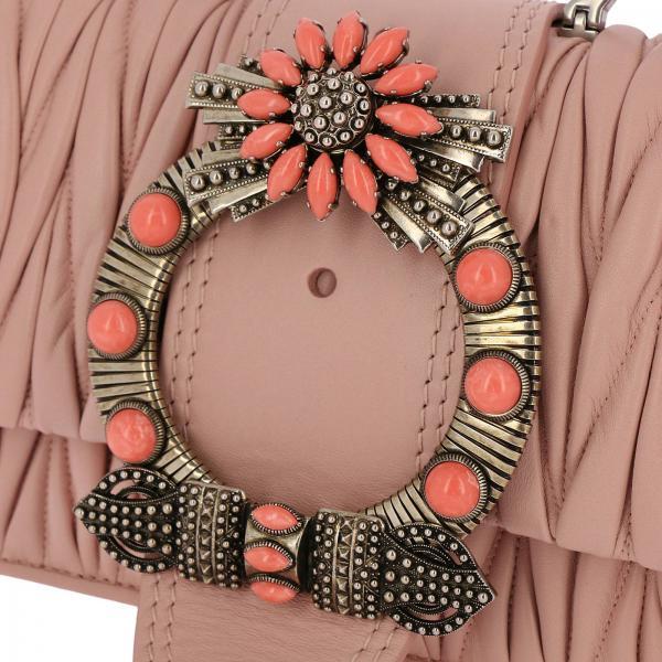 N88 Matelassè Donna Lock Mini Pelle Con In Borsa MiuLady Maxi Gioiello 5bh609 Soft D2EW9HIY