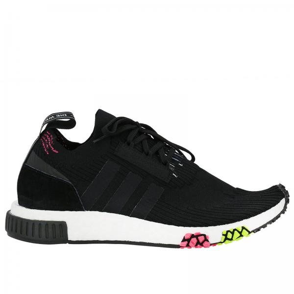 quality design d8af8 937a6 Adidas Originals Men s Black Sneakers   Adidas Originals Nmd-racer Primeknit  Men s Sneakers With Contrasting Shaped Plus   Adidas Sneakers Cq2441 -  Giglio ...