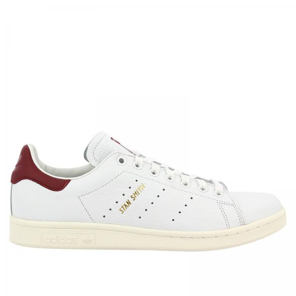 Baskets Homme Adidas Originals Blanc | Baskets Stan Smith Originals En Cuir Martelé Avec Semelle Ortholite Pour Homme | Baskets Adidas Cq2195 - Giglio FR