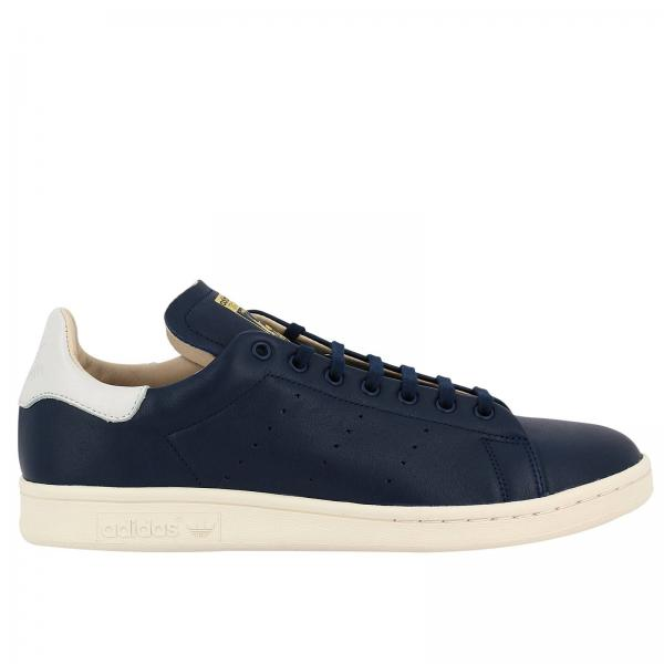 Baskets Homme Adidas Originals Bleu | Baskets Stan Smith Recon Originals En Cuir Lisse Avec Semelle Ortholite Pour Homme | Baskets Adidas Cq3034 - Giglio FR
