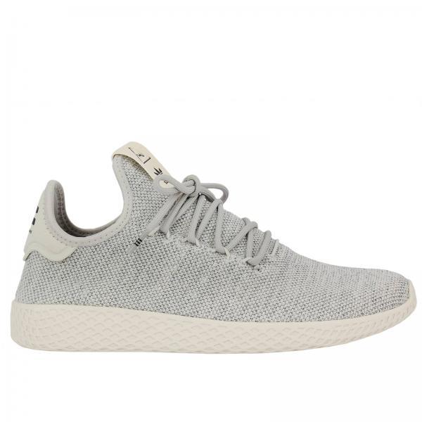 Adidas Originals Men S Grey Sneakers Sneakers Adidas Pharrell