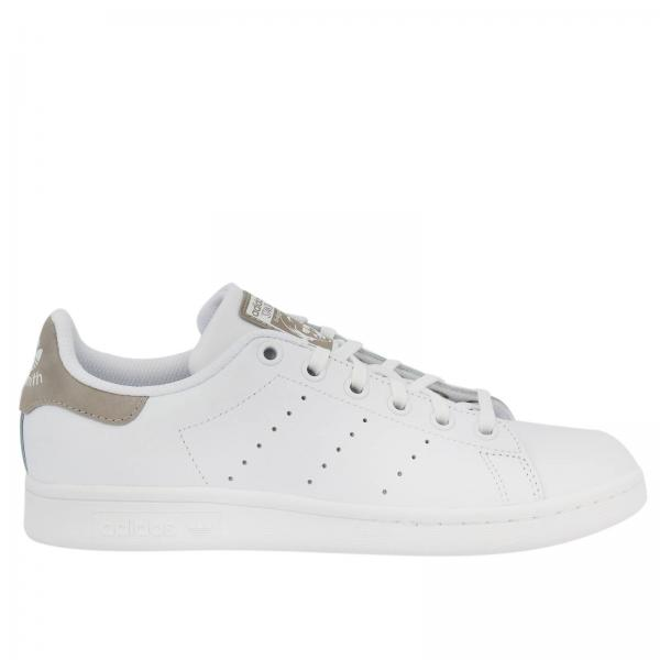 quality design 8db6b 9f05b Sneakers stan smith j originals in pelle liscia con soletta ortholite
