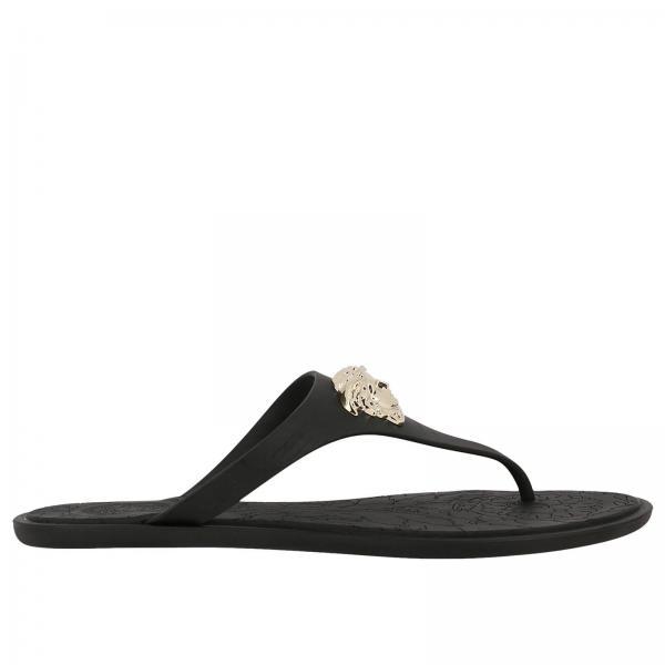 Sandalen Damen Für Flache Versace Dsr257c wgOqWHd