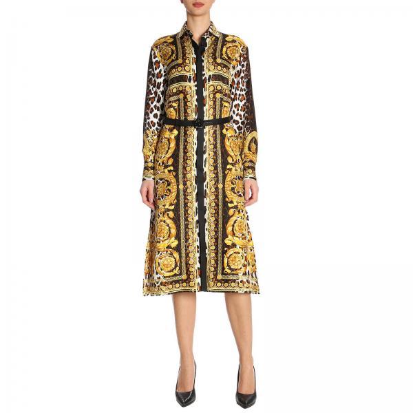 Robes Femme Versace Noir   Robes Femme Versace   Robes Versace A79469  A225638 - Giglio FR ab49d170c9a