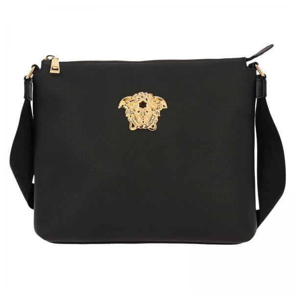 abbbb4be4cae Versace Men s Black Bags