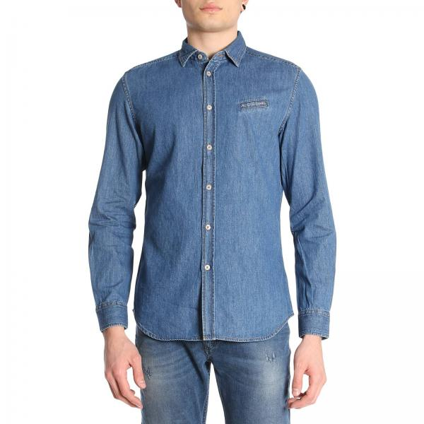 f02bea15007 Diesel Men s Denim Shirt