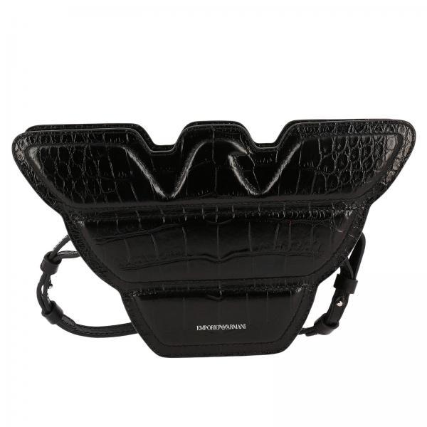 1d09fcc2e9cf Emporio Armani Women s Black Mini Bag