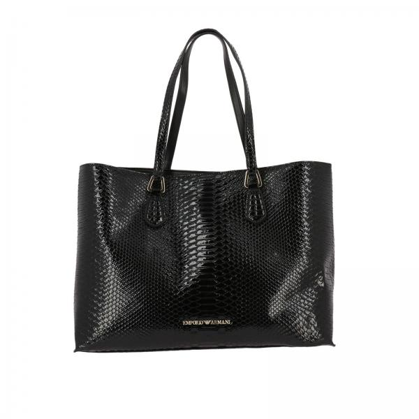 f2b2bdc795cd Emporio Armani Women s Black Shoulder Bag