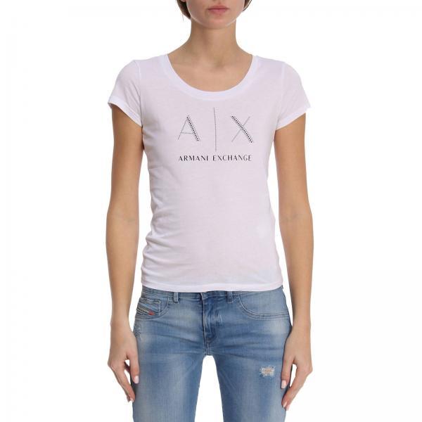 T-shirt Women Armani Exchange White 61be8e5a5e